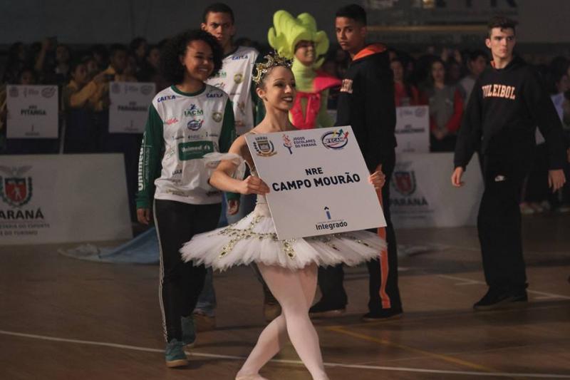 Grande sucesso: Assim foi considerada a 65º edição dos Jogos Escolares do Paraná