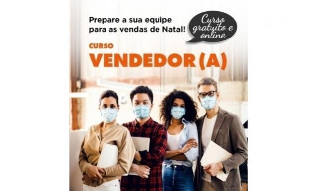 Curso gratuito online de Vendedor começa a ser ministrado no próximo dia 22 em Campo Mourão