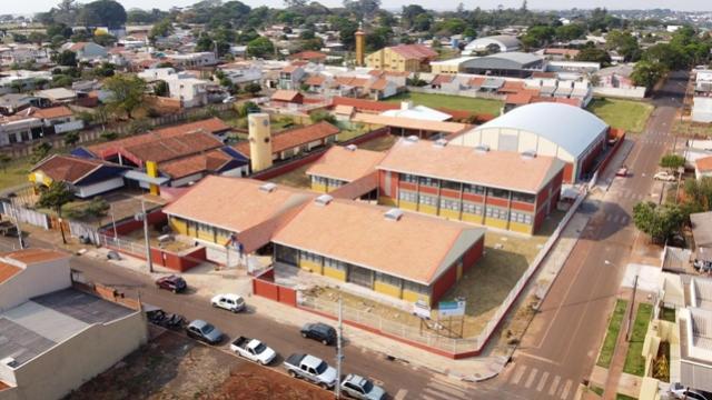 Novo colégio no Jardim Santa Cruz em Campo Mourão está quase pronto para receber alunos