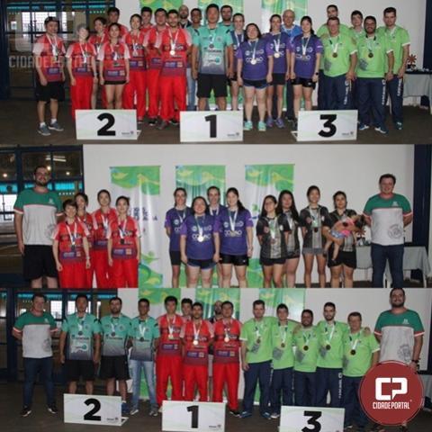 Campo Mourão e Londrina conquistam título por equipes do tênis de mesa nos Jogos Abertos