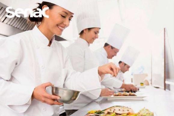 Curso de Cozinheiro no Senac em Campo Mourão