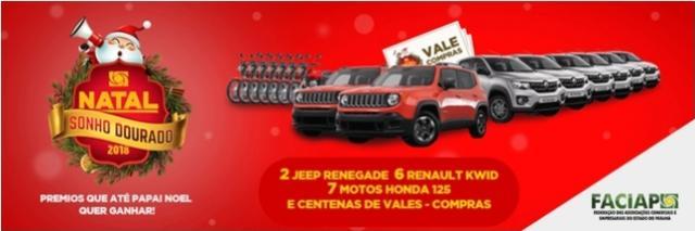 Natal - Sonho Dourado sorteou 210 vale compras para Campo Mourão e região