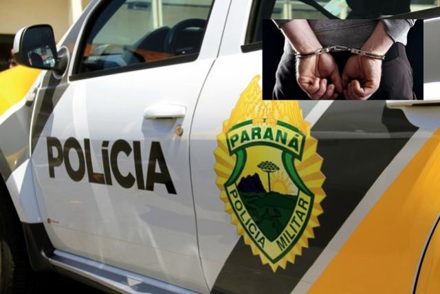 Uma pessoa foi presa em flagrante furtando residência no centro de Campo Mourão