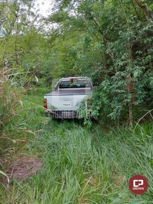 Polícia Militar de Campo Mourão recupera caminhonete que foi roubada em Cianorte