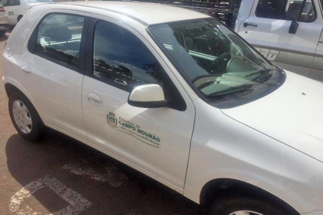 Rastreadores são instalados em veículos da Prefeitura de Campo Mourão