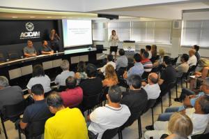 Acicam:  Evento atraiu empresários