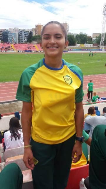 Incrível: Taina Beatriz é bronze no Mundial Escolar na modalidade atletismo
