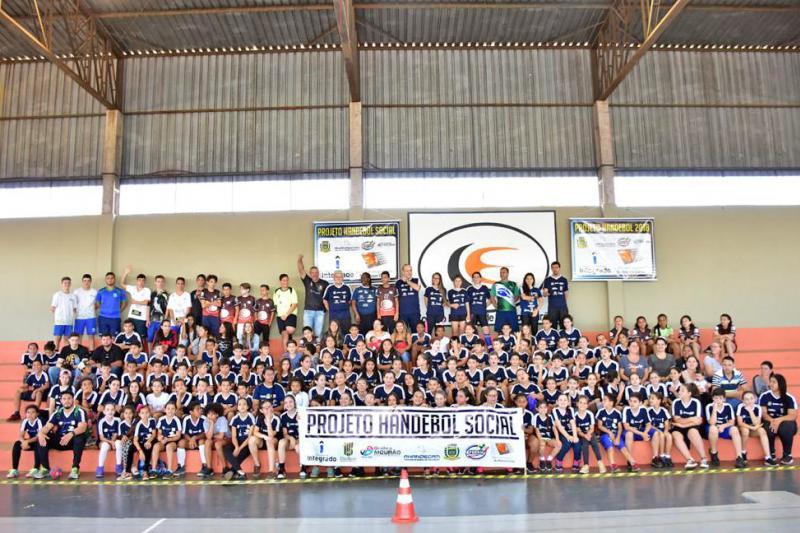 Handebol de Campo Mourão participa do Estadual Infantil no final de semana