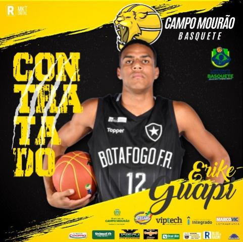 Pivô campeão da Liga Ouro pelo Botafogo é o terceiro reforço do Campo Mourão Basquete