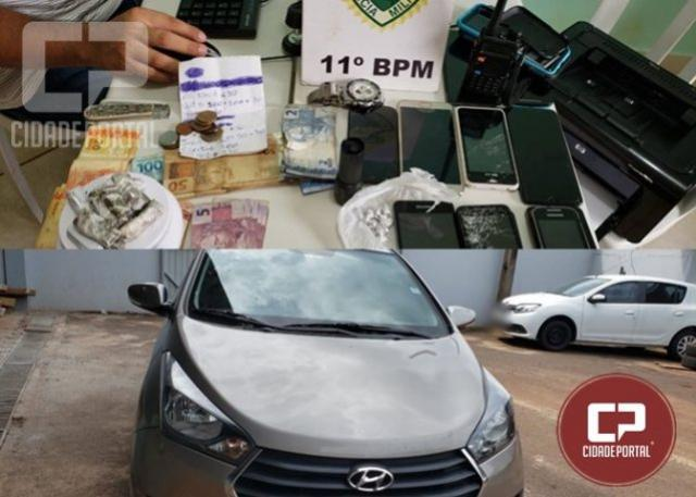 Assaltantes de Ônibus em Engenheiro Beltrão são presos pela Polícia Militar em Campo Mourão