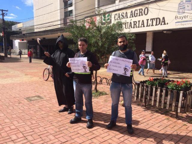Maio Amarelo - Gincana e blitz reforçam ações de conscientização no trânsito