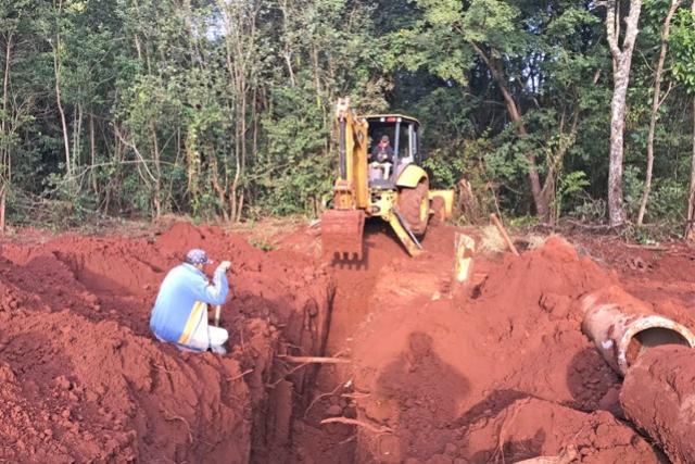 Município de Campo Mourão já chegou a 50% da pavimentação já concluída na Vila Guarujá