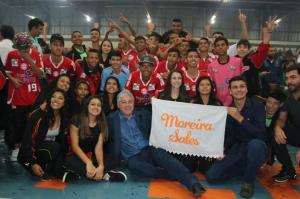 30º Jogos da Juventude do Paraná: Secretário Douglas Fabrício participou  de abertura de regional em Barbosa Ferraz