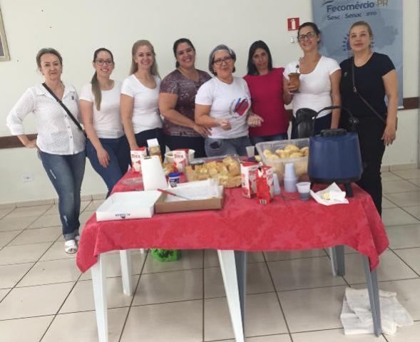Cmeg de Campo Mourão encerra curso com café em prol da Santa Casa