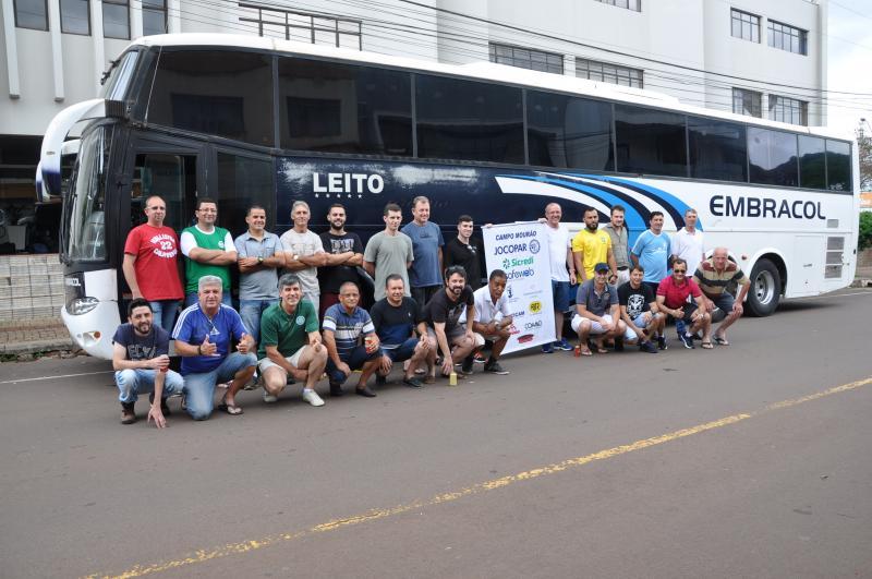 Delegação do SinConCam em Umuarama para o 26º Jocopar