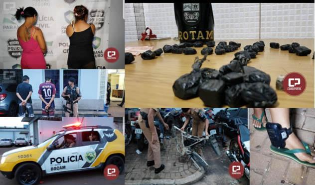 Polícia Militar estoura ponto de Tráfico em Campo Mourão
