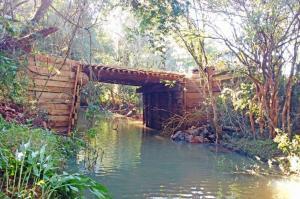 Reconstrução de Ponte é concluída na Água da Cascata