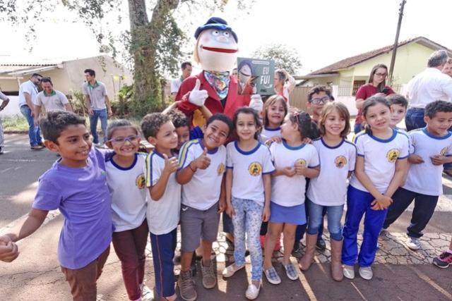 Dia Nacional do Campo Limpo foi marcado por ação na Escola Eroni Maciel Ribas