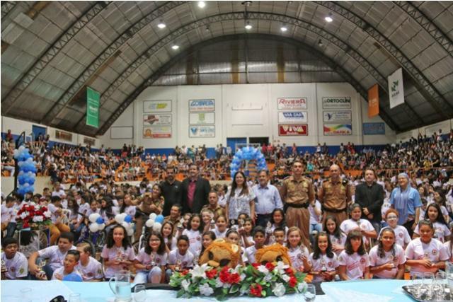 Mais de 870 alunos se formaram no PROERD em Campo Mourão