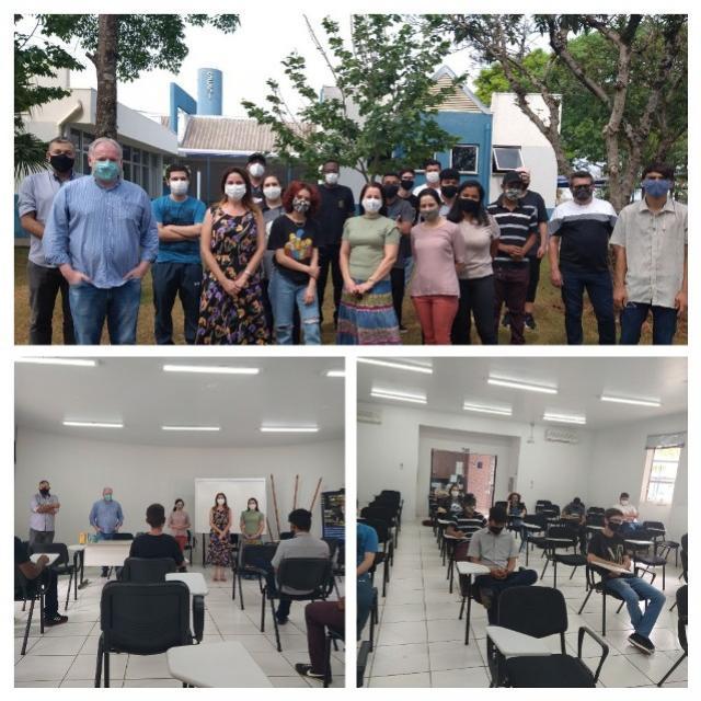 Iniciado curso de auxiliar de mecânica industrial em Campo Mourão
