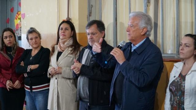 Assinada ordem de serviço para construção da nova Escola em C. Mourão