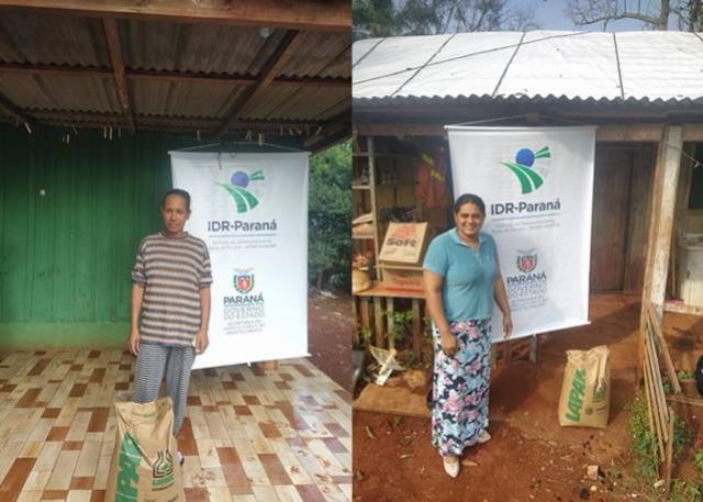 Programa Sementes foi iniciado no município de Iretama