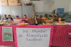 Cultivo de alimentos orgânicos foi tema de aprendizado para alunos de escola municipal em C. Mourão