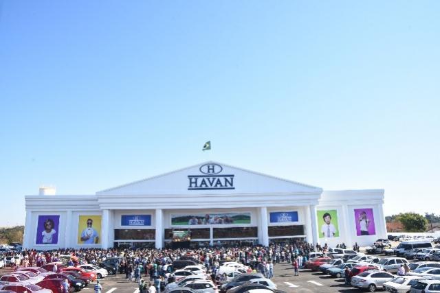 40 mil pessoas visitaram a 130ª loja da Havan em Campo Mourão