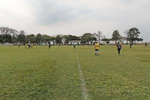 Domingo também foi de futebol no Distrito Piquirivaí