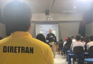 Semana do Trânsito em Campo Mourão foi aberta com palestras no Centro da Juventude