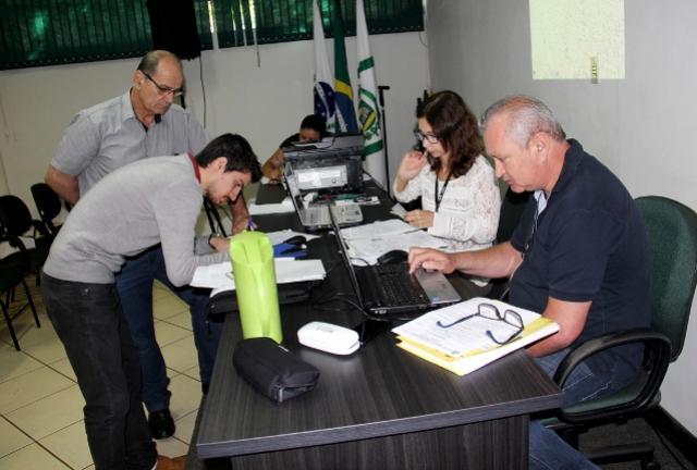Cinco lotes vendidos em leilão realizado pelo Município de Campo Mourão