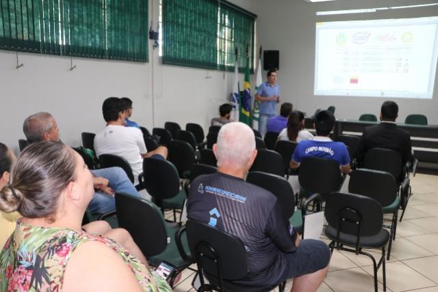 Reunião tratou sobre adequações do projetos esportivos de Campo Mourão