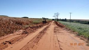 Prefeitura de Farol realiza obras de melhoria em estradas rurais