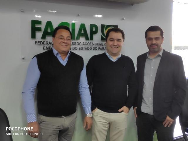Acicam e Cacercopar participaram da quarta reunião do Conselho de Administração da Faciap