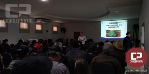 Peabiru reúne produtores para tratar plano safra 2019-2020 e controle de formigas cortadeiras