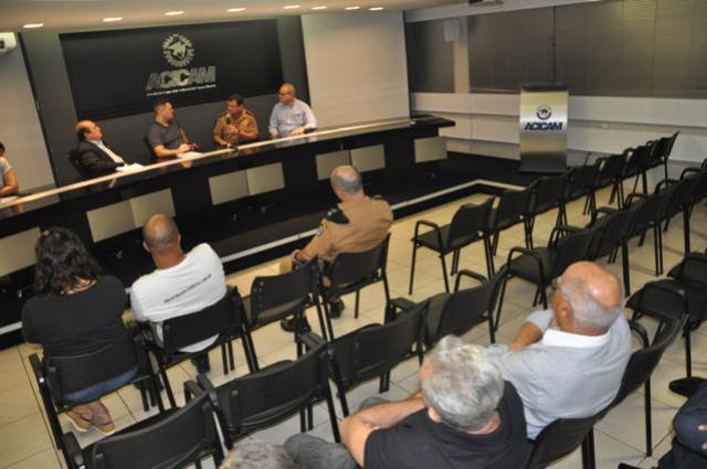 Poucos mourãoenses participaram da reunião mensal do Conseg