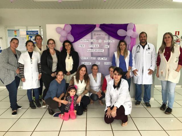 Campanha Setembro Lilás prossegue com ações em prol da saúde do idoso em Campo Mourão