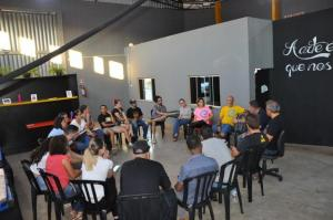 Associação Sou Arte de C. Mourão realizou reunião preparatória para a Mostra Cultural de Natal