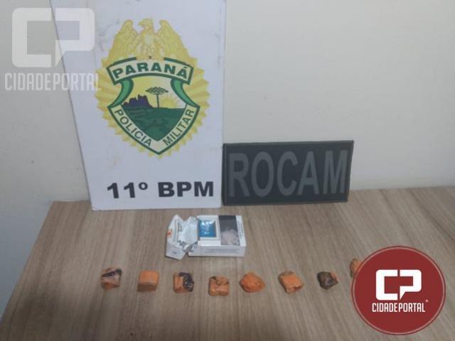Policiais Militares apreendem menor por ato infracional em Campo Mourão