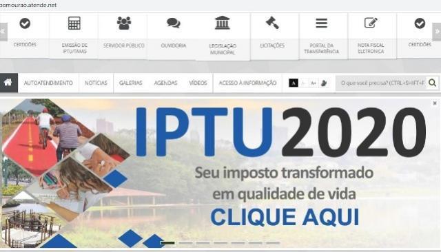 Contribuintes já pagaram à vista R$ 574,7 mil em IPTU, Cosip e coleta de lixo em Campo Mourão