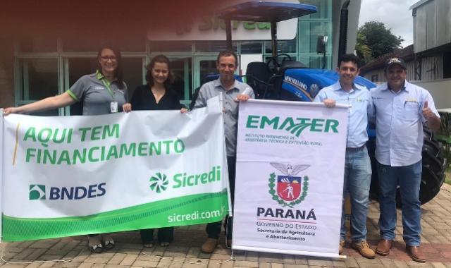 Mais dois produtores de Araruna são beneficiados com o Programa Trator Solidário