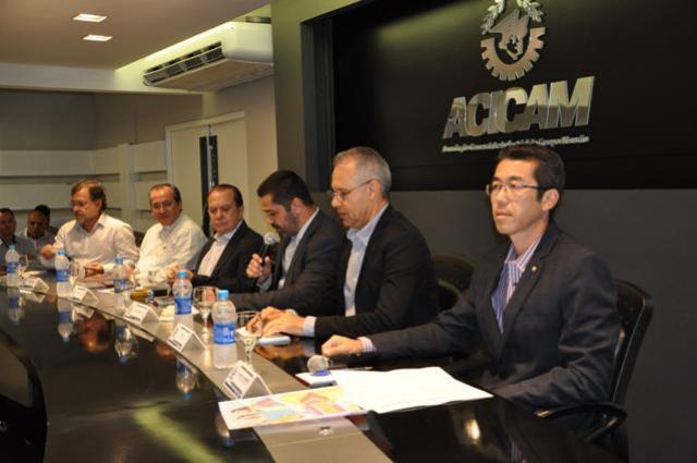 Com auditório lotado, Acicam fez a primeira reunião de 2019 em Campo mourão