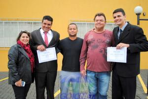 Rafael Bolacha e Genésio foram, diplomados nesta terça-feira, 20 - Prefeito e Vice de Moreira Sales