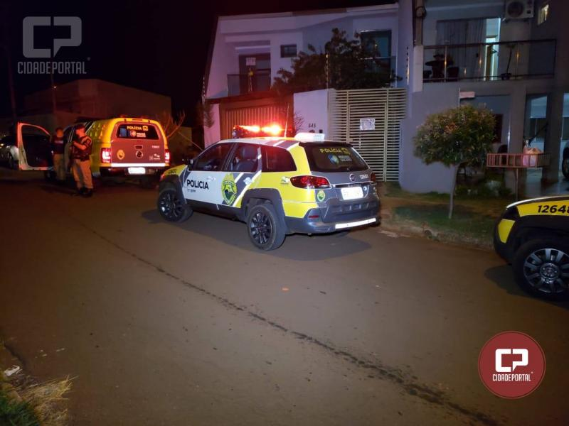 Empresário é amarrado durante assalto no momento que chegava em sua residência em Campo Mourão