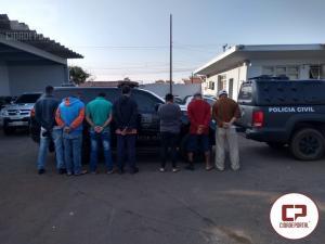 Polícia Civil deflagra Operação Caxanga em Campo Mourão