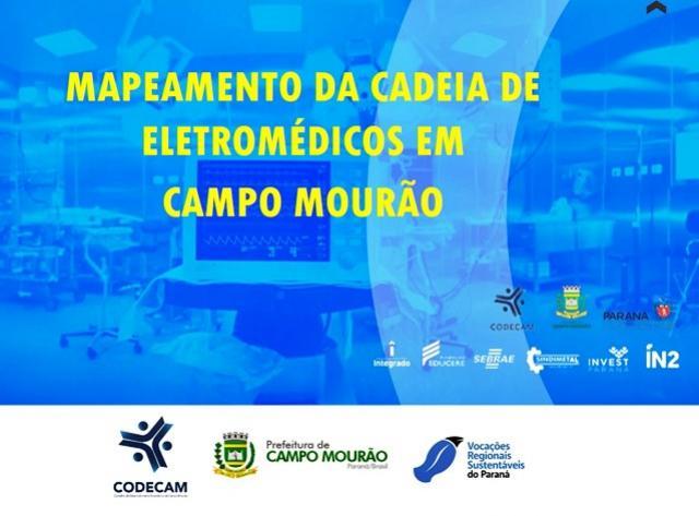 CODECAM apresenta dados da cadeia de eletromédicos em Campo Mourão