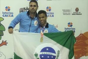 Mourãoense é Campeão Paralímpico Escolar Nacional na Natação