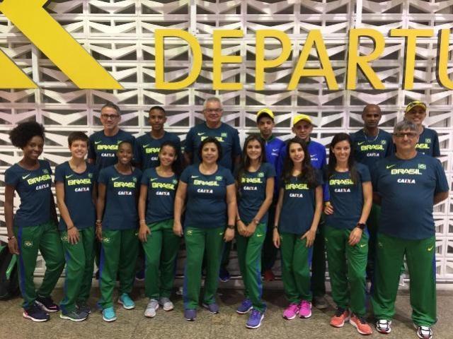 Técnico do atletismo mourãoense está no Equador com a Seleção Brasileira