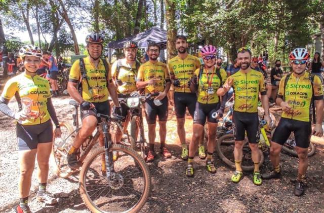 Ciclismo MTB Mourãoense competiu em Corbélia