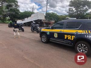 Flagrado a 179 km/h pelo radar da PRF, trio de motociclistas responderá por crime de trânsito